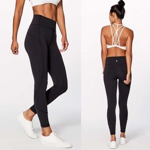 NWT💕 Lululemon In Movement 7/8 Tight *Everlux 25""
